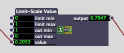Limit Scale Value