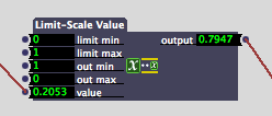 Limit Scale Value