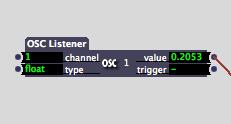OSC Listener
