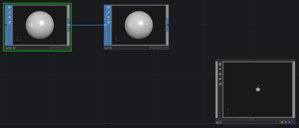 sphere null geo