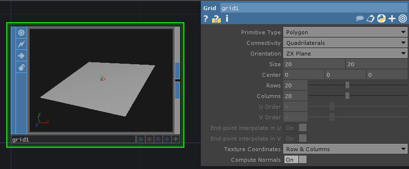 grid setup