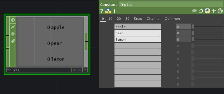fruit constant